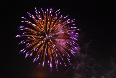 UDC's Fireworks on the Waterfront 2014