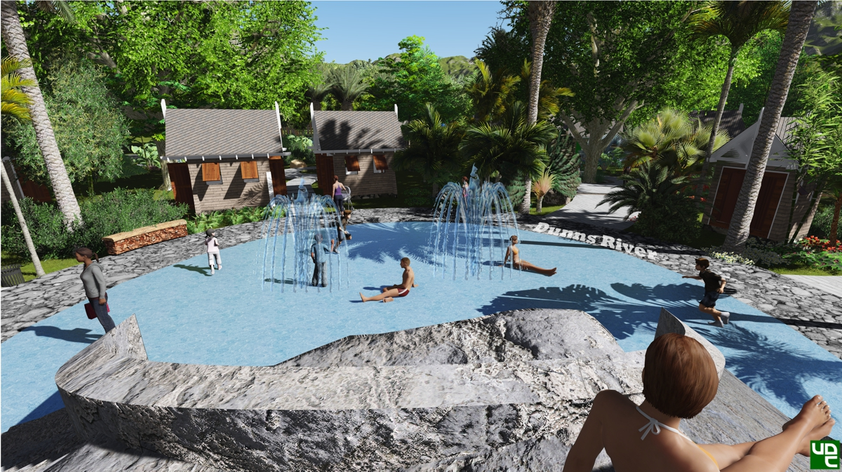 Urbanscope - UDC to Develop Central Gardens At Dunn's River Falls October 29, 2015