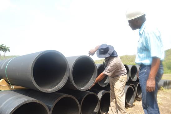 Urbanscope - Caymanas Estate Sewage Conveyance System Update July 30, 2015