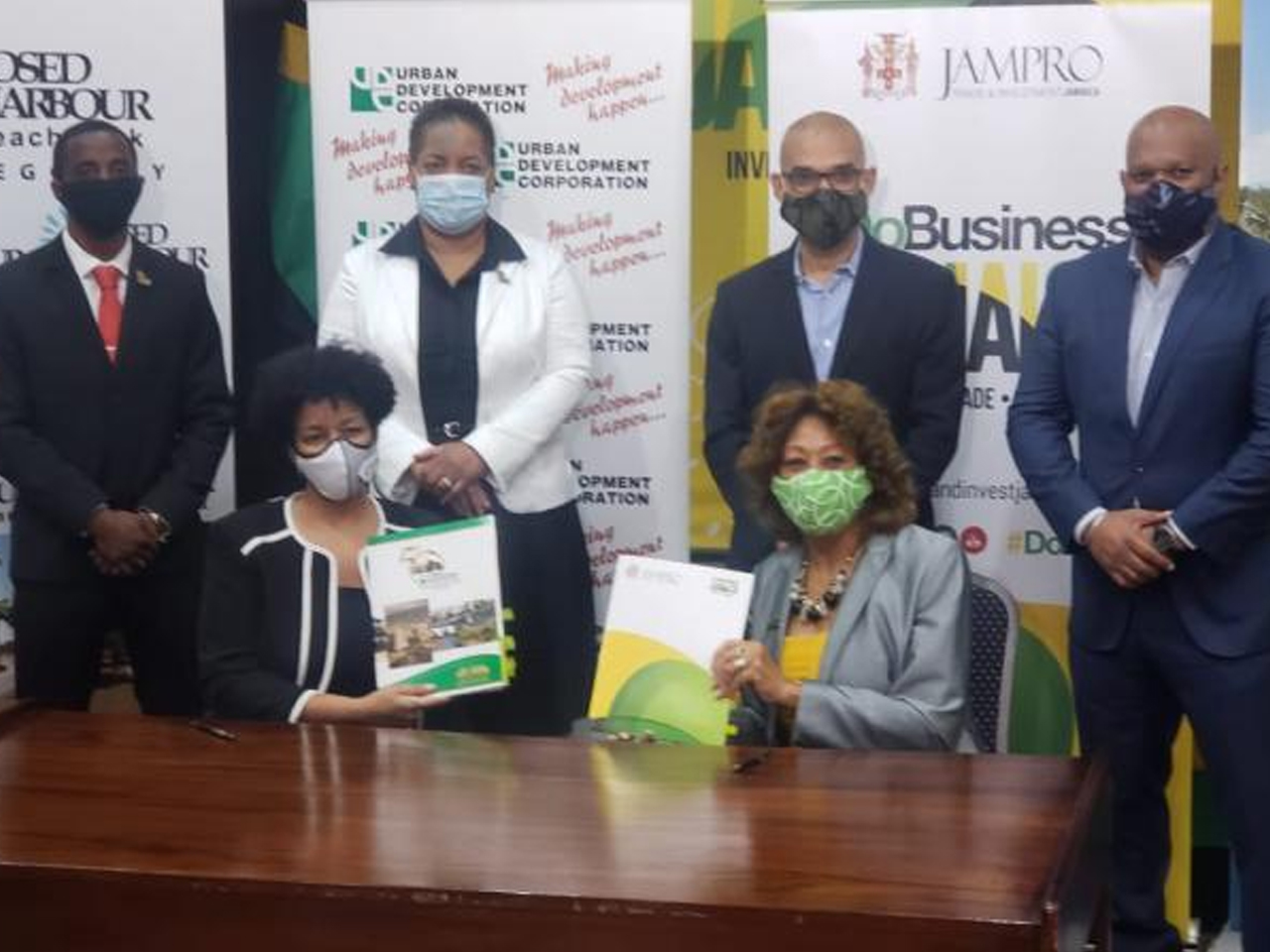 INVESTMENT COLLABORATION | JAMPRO and UDC sign MOU