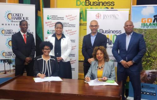 UDC - JAMPRO MOU Signing